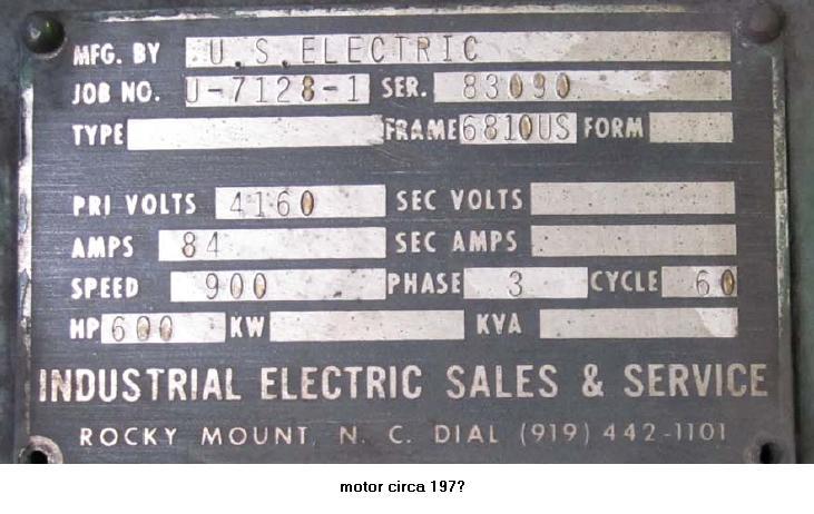 Implied Service Factor Ca 1972 Electric Motors