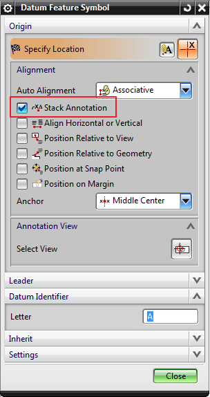 Nx 85 Drafting Datum Feature Symbol Does Not Move With View